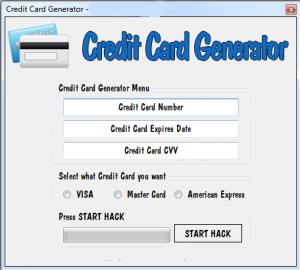 codici carte di credito validi