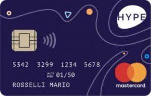 carte di credito prepagate gratis hype start